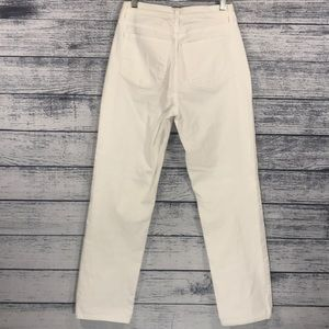 NYDJ Jeans - Not Your Daughter Jeans White Size 6 Straight Leg